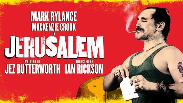Jerusalem at the apollo theatre starring mark rylance