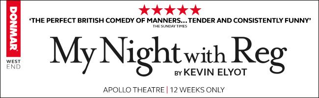 My Night with Reg Apollo Theatre 650